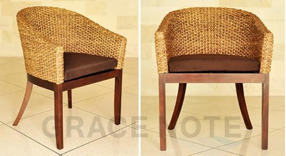 アジアン家具:アームチェアー グレイスノートWC-02