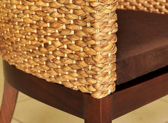 アジアン家具:アームチェアー ウォーターヒヤシンス