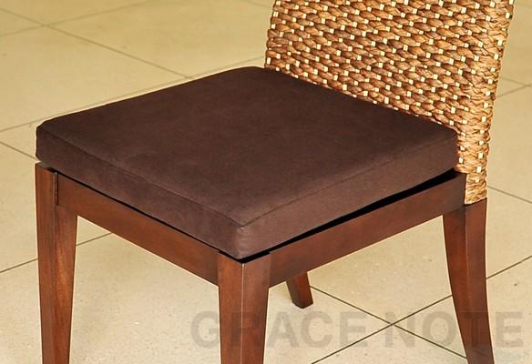 アジアン家具:ダイニングチェアー 座面