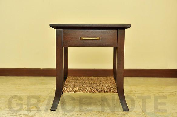 アジアン家具:サイドテーブル