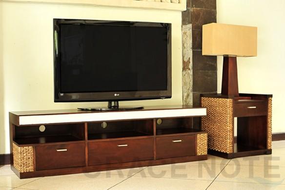 アジアン家具:サイドテーブル グレイスノート