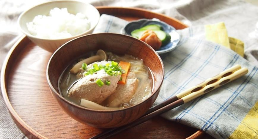 いわしと豆腐のつみれ汁