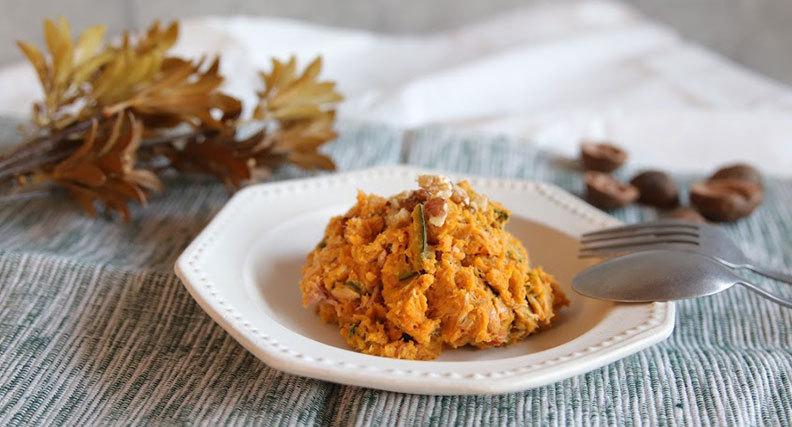かぼちゃのマスカルポーネ味噌サラダ