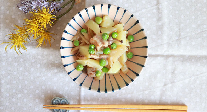 柚子胡椒肉じゃが