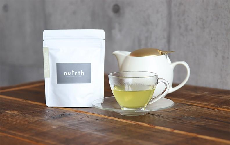 nutrth バジル緑茶ティーバッグ