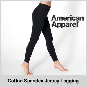 American Apparel 【アメリカンアパレル】ジャージー レギンス