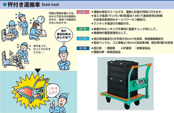 秤付き運搬車 TYH-300