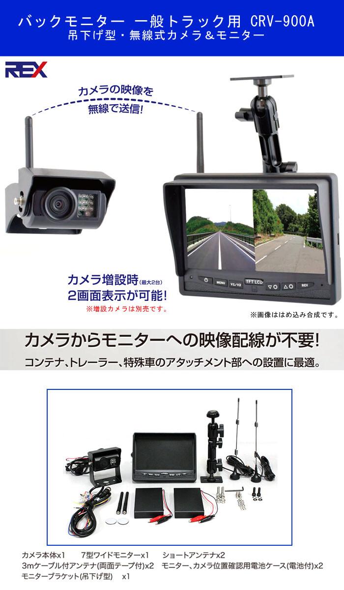 アラウンドモニター(12V・24V兼用) CRV800