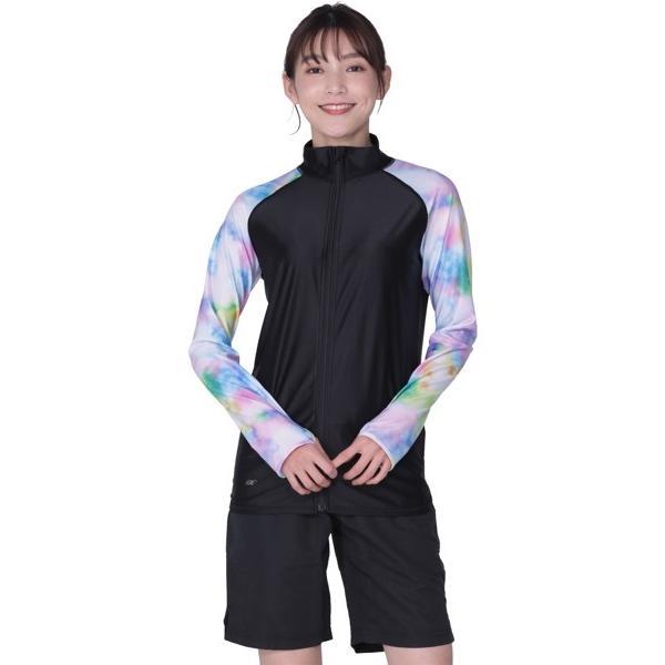 ラッシュガード メンズ 長袖 フードなし パーカー 水着 体型カバー 紫外線対策 おしゃれ 大きいサイズ PR-4300 oc-sports 33