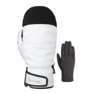 スノーミトン メンズ レディース スノーボード グローブ スノーグローブ 手袋 GORE-TEX インナーグローブ付き AGE-31M OC STYLE PayPayモール店