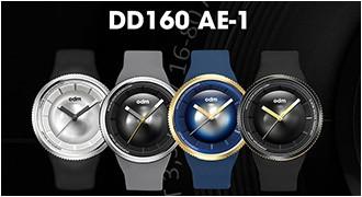 一眼レフのレンズをデザインコンセプトにしたDD160シリーズ