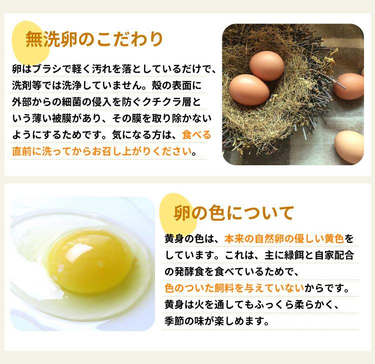無洗卵のこだわり