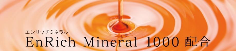 エンリッチミネラル1000(別府温泉精製湯の花エキス)治療目的に利用される温泉の約1,000倍濃度のミネラル
