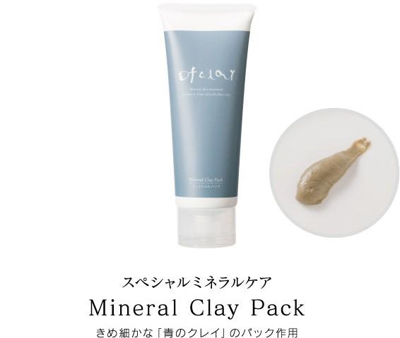 スキンケアで人気の洗い流すタイプのパック剤。泥による美肌ケア。