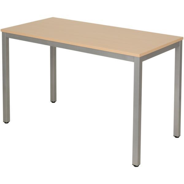 法人様限定 会議用テーブル ミーティングテーブル 幅1200×奥行600×高さ720mm ホワイト・ナチュラル・ダークブラウン officecom 15