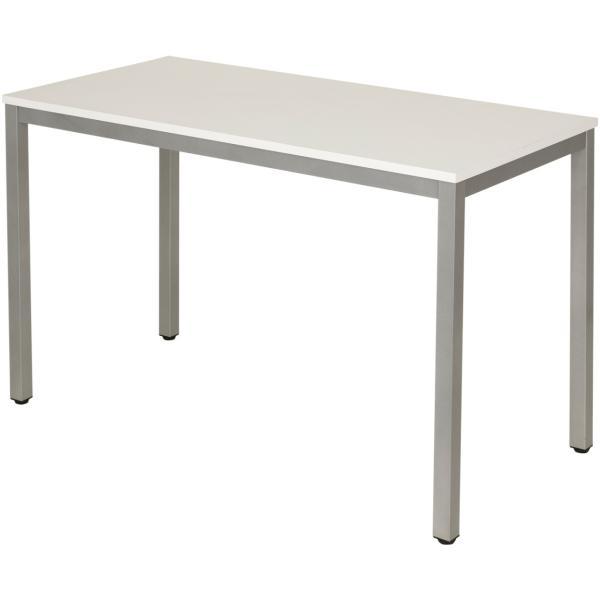 法人様限定 会議用テーブル ミーティングテーブル 幅1200×奥行600×高さ720mm ホワイト・ナチュラル・ダークブラウン officecom 14
