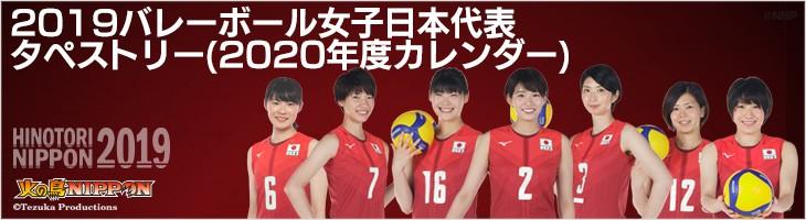 タペストリー(2020カレンダー)  2019日本代表女子バレーボール