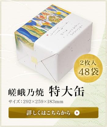 嵯峨乃焼 特大缶