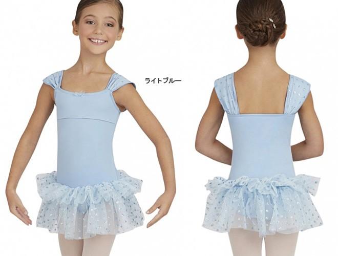 fb5dd79839e7e レオタード子供用Capezio(カペジオ)スカート付桜、アラベスクデザインバレエ用品ゆう