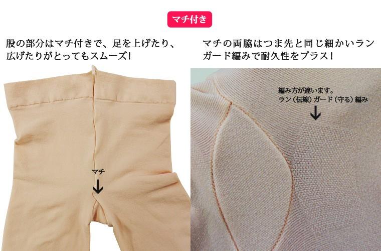 日本製バレエタイツ 穴あき 子供から大人用 バレエ用品(ゆうパケット選択可)