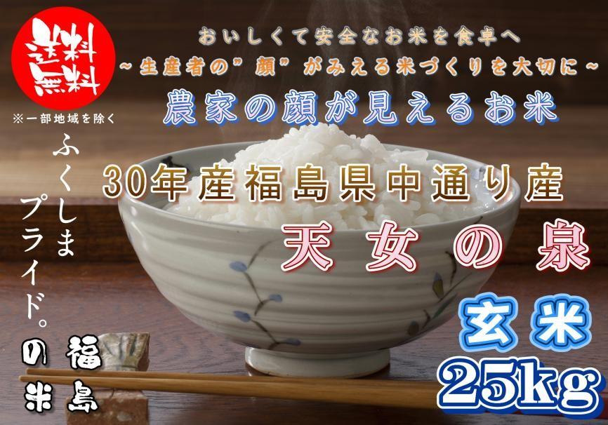 天女の泉玄米25kg