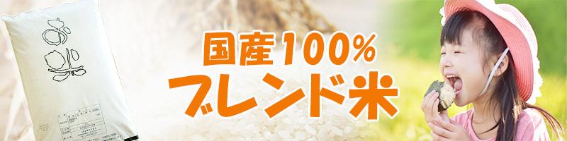 国産100% ブレンド米 安い 訳あり お米 送料無料