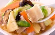 大阪王将の定番商品:中華丼の具