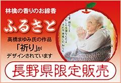 長野県限定販売 林檎の香りのお線香「ふるさと」