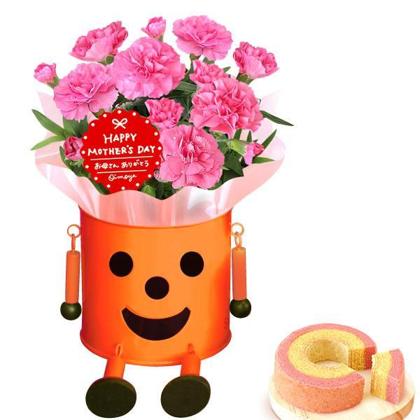 母の日 ギフト 花 母の日 カーネーション プレゼント 花とスイーツ 2020 ギフトランキング 鉢植え お菓子|oimoya|21