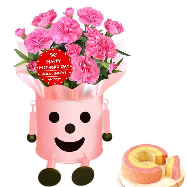 母の日 ギフト 花 母の日 カーネーション プレゼント 花とスイーツ 2020 ギフトランキング 鉢植え お菓子|oimoya|20
