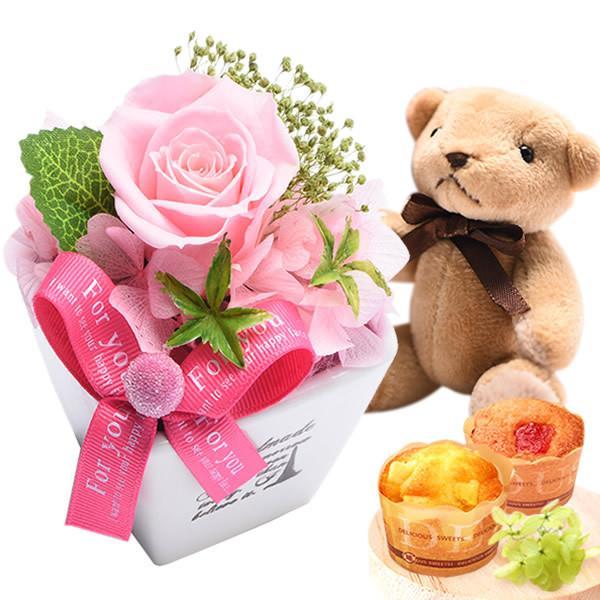 お歳暮 御歳暮 お菓子 誕生日 プレゼント 花 プリザーブドフラワー お祝い ギフト|oimoya|26