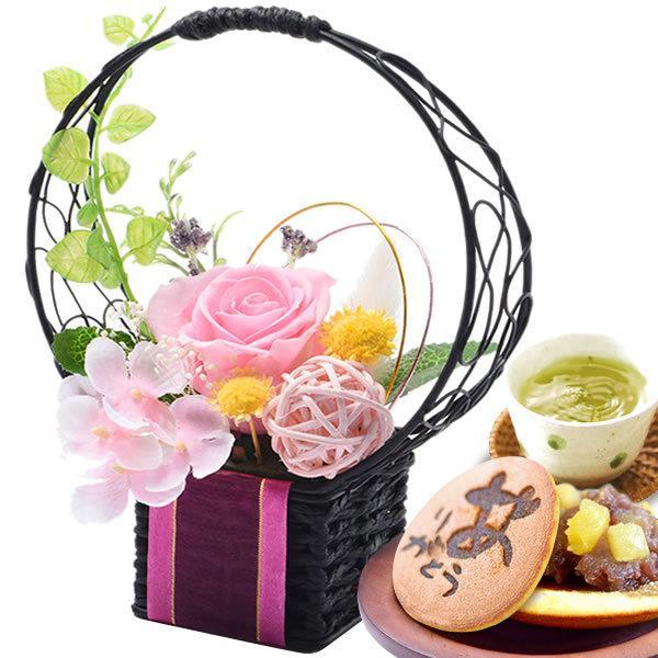 母の日 2021 プレゼント ギフト 花 プリザーブドフラワー 和菓子 洋菓子 花とスイーツ ギフトランキング お菓子|oimoya|21