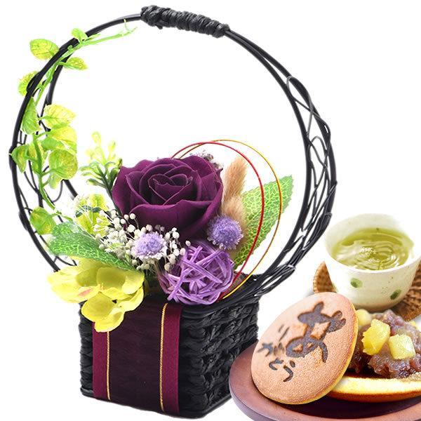 母の日 2021 プレゼント ギフト 花 プリザーブドフラワー 和菓子 洋菓子 花とスイーツ ギフトランキング お菓子|oimoya|22
