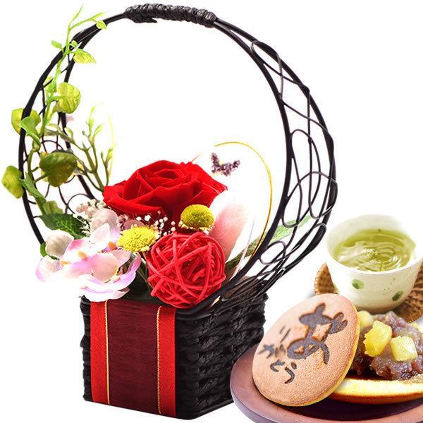 お菓子 誕生日 お祝い プレゼント ギフト 花 プリザーブドフラワー|oimoya|14