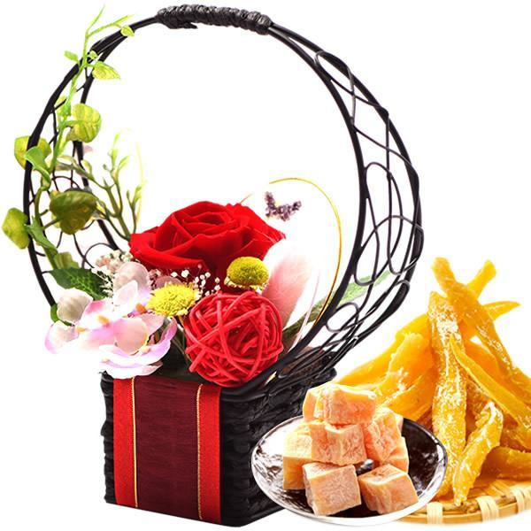 お歳暮 御歳暮 お菓子 誕生日 プレゼント 花 プリザーブドフラワー お祝い ギフト|oimoya|17