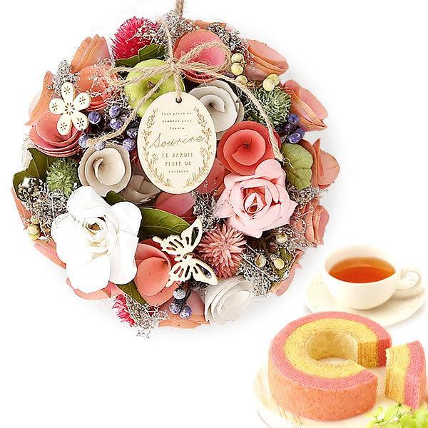 母の日 2021 プレゼント ギフト 花 プリザーブドフラワー 和菓子 洋菓子 花とスイーツ ギフトランキング お菓子|oimoya|37