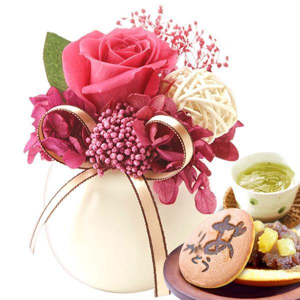 お菓子 誕生日 お祝い プレゼント ギフト 花 プリザーブドフラワー|oimoya|17