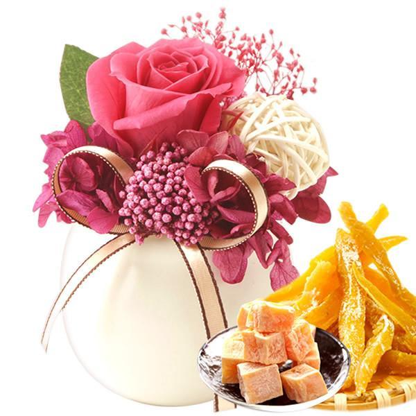 お歳暮 御歳暮 お菓子 誕生日 プレゼント 花 プリザーブドフラワー お祝い ギフト|oimoya|20
