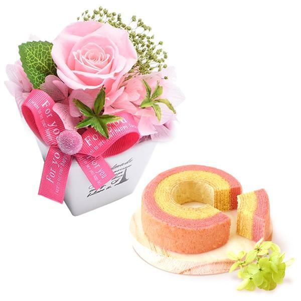 誕生日 プレゼント お祝い ギフト 花 プリザーブドフラワー 和菓子 洋菓子 花とスイーツ ギフトランキング お菓子 oimoya 18