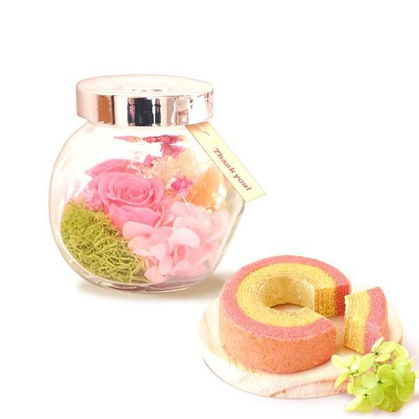 誕生日 プレゼント お祝い ギフト 花 プリザーブドフラワー 和菓子 洋菓子 花とスイーツ ギフトランキング お菓子 oimoya 23