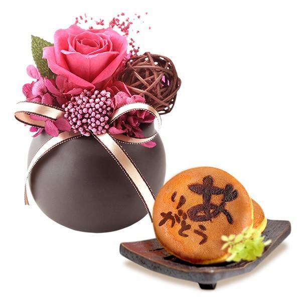誕生日 プレゼント お祝い ギフト 花 プリザーブドフラワー 和菓子 洋菓子 花とスイーツ ギフトランキング お菓子 oimoya 21