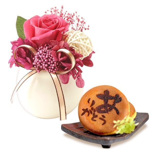 誕生日 プレゼント お祝い ギフト 花 プリザーブドフラワー 和菓子 洋菓子 花とスイーツ ギフトランキング お菓子 oimoya 20