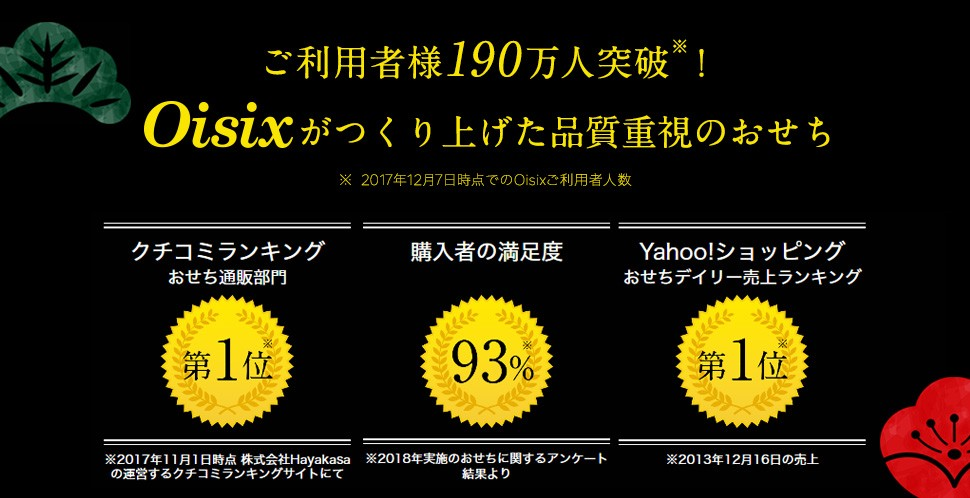 Oisixおせち2019