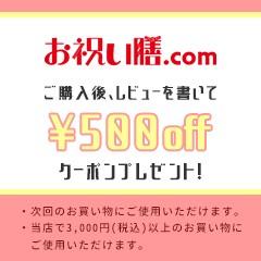 レビュー500円クーポン