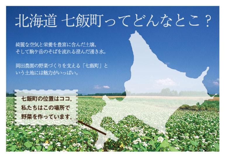 北海道七飯町ってどんなとこ?