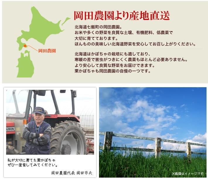 岡田農園より産地直送