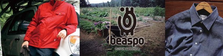 beaspoビアスポ/大人の価値あるライフスタイルウェア,アウトドア,トラベルウェア,カジュアルウェア,スポーツウェア,デザイナー武捨光晶
