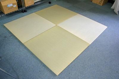 へりなし置き畳ユニット畳ワンランク上の材料を使ったへりなし畳「蒼々」