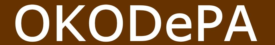 OKODePA おこデパ ロゴ