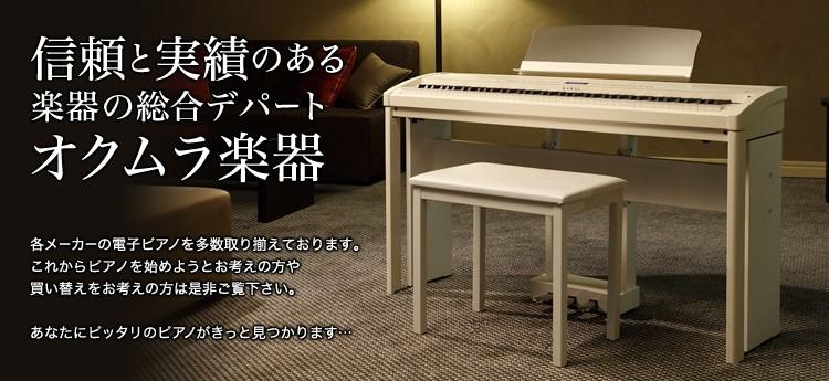 信頼と実績のある楽器の総合デパートオクムラ楽器